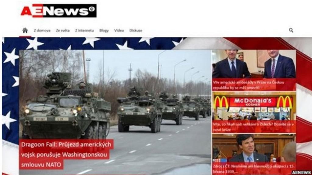 AENews informuje o průjezdu amerického konvoje