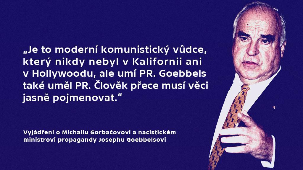 Výrok Helmuta Kohla