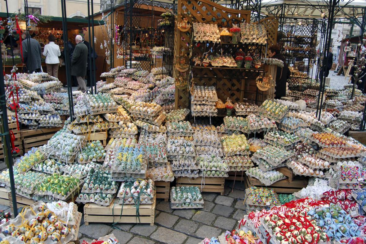 Vídeňské velikonoční trhy jsou vyhlášené