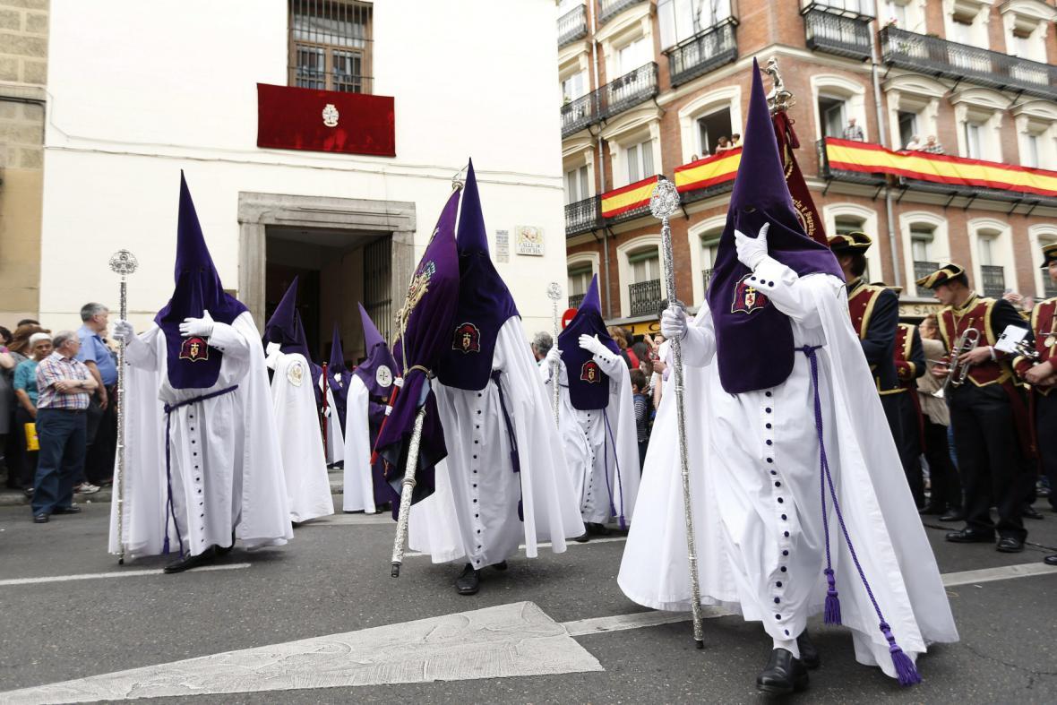 Páteční procesí v Madridu