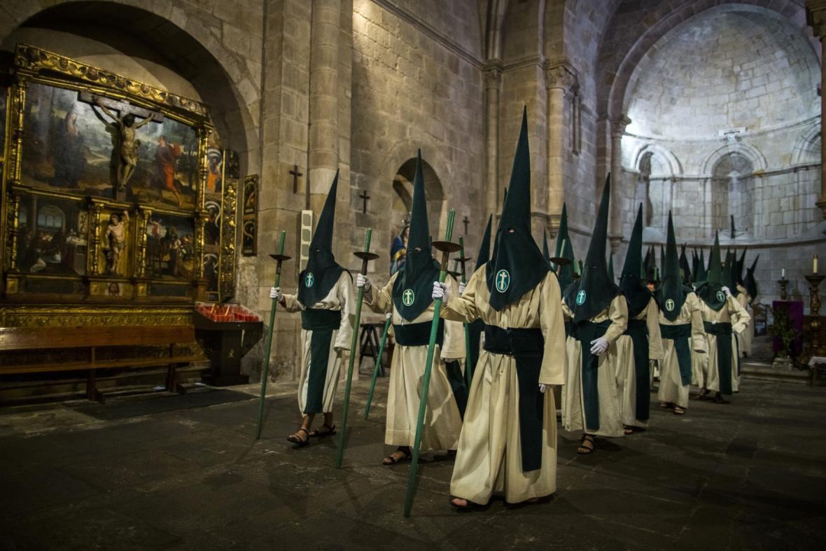 Španělské procesí