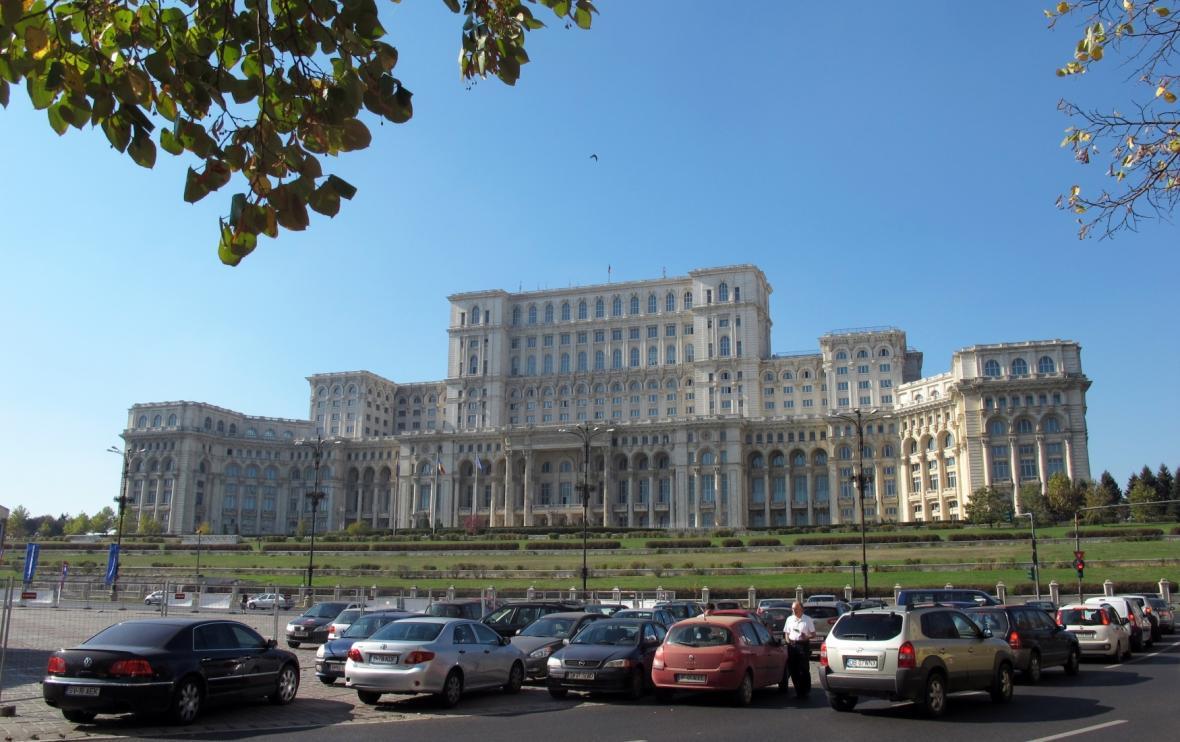 Bukurešťské sídlo parlamentu