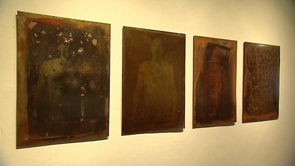 Z výstavy Horníci