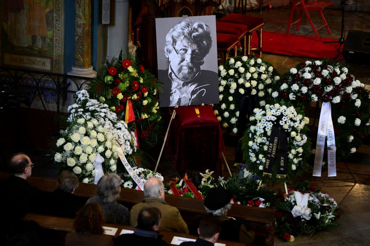 Pohřeb Miroslava Ondříčka