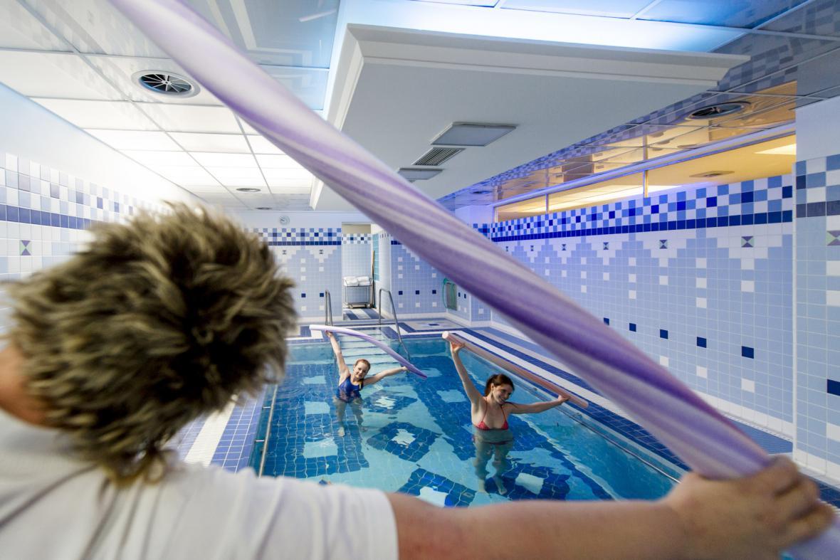Rehabilitační bazén v Lázních Velichovky