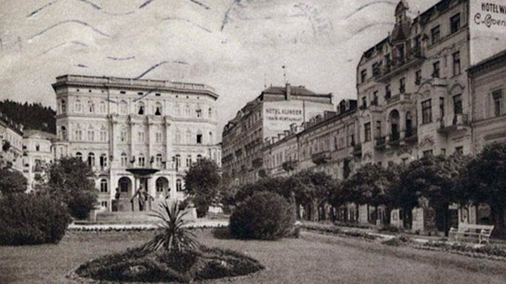 Hotel na dobové pohlednici