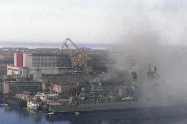 V Archangelsku hoří jaderná ponorka