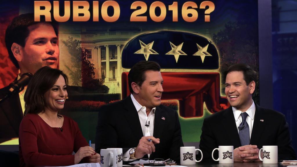 Marco Rubio během rozhovoru o chystané kandidatuře