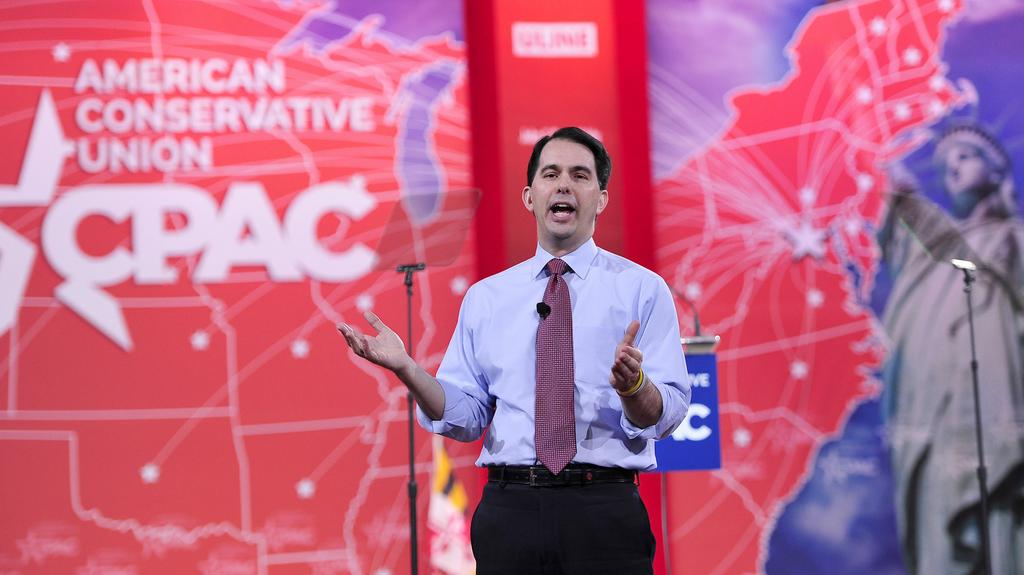 Guvernér Wisconsinu Scott Walker