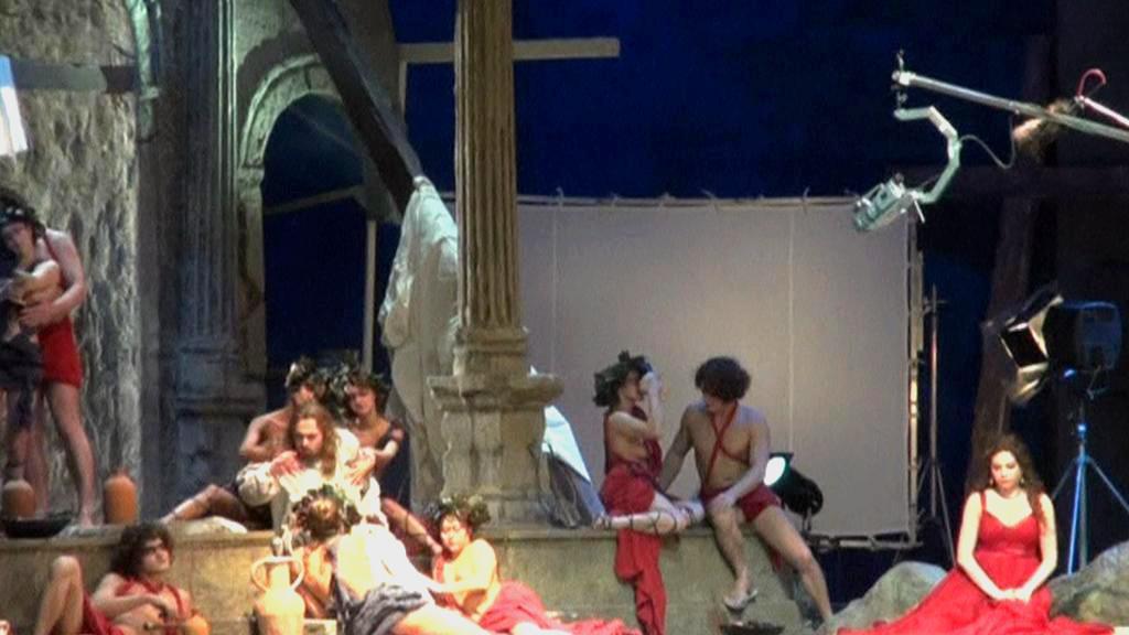 Opera Tannhäuser v novosibirském divadle