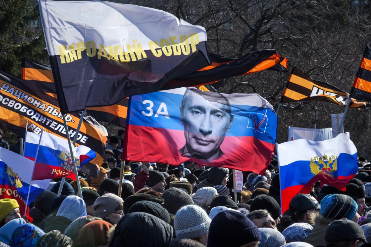 Protest proti Putinovi