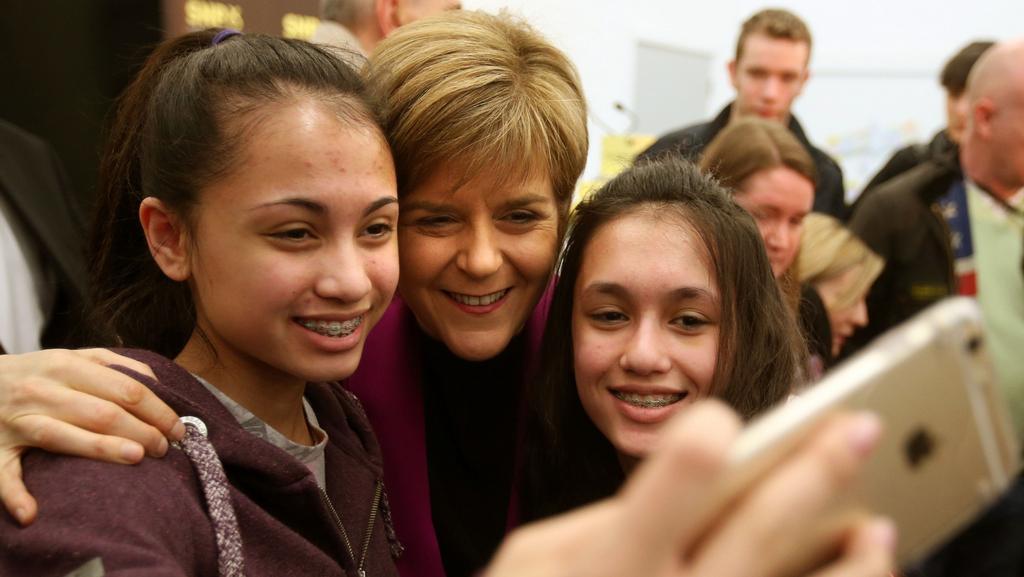 Lídryně Skotské národní trany Nicola Sturgeonová