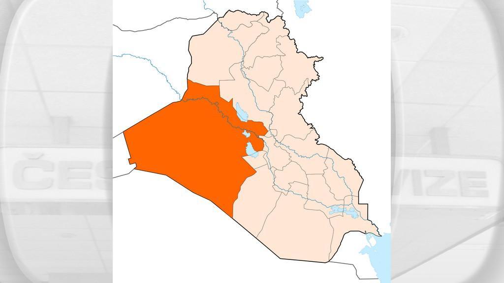 Anbar je největší iráckou provincií
