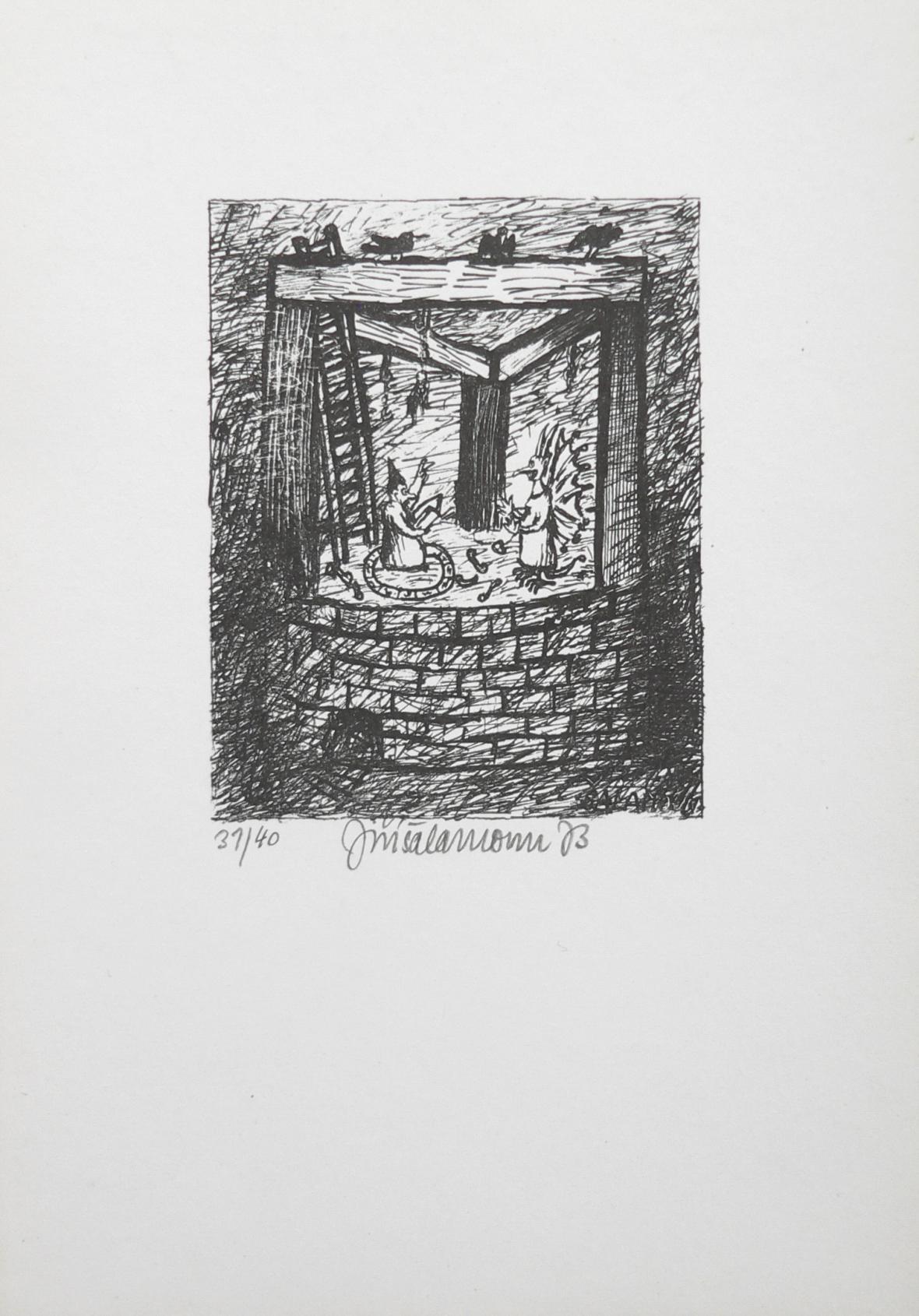 Jiří Šalamoun / Padluke pidluke, 1973