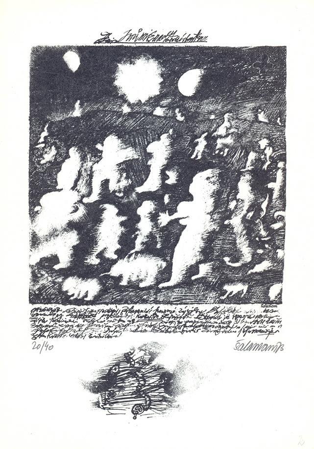 Jiří Šalamoun / Filipojakubská noc, 1983