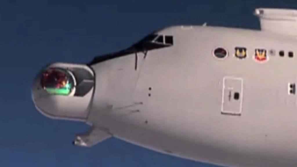 Armádní boeing s laserem