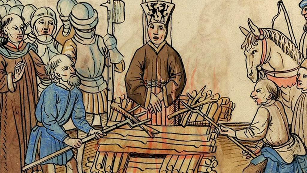Upálení Jana Husa
