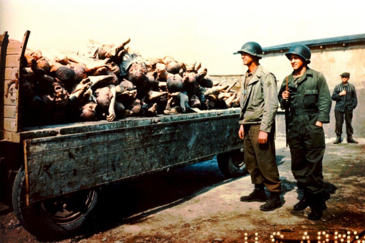 Americká armáda v Buchenwaldu