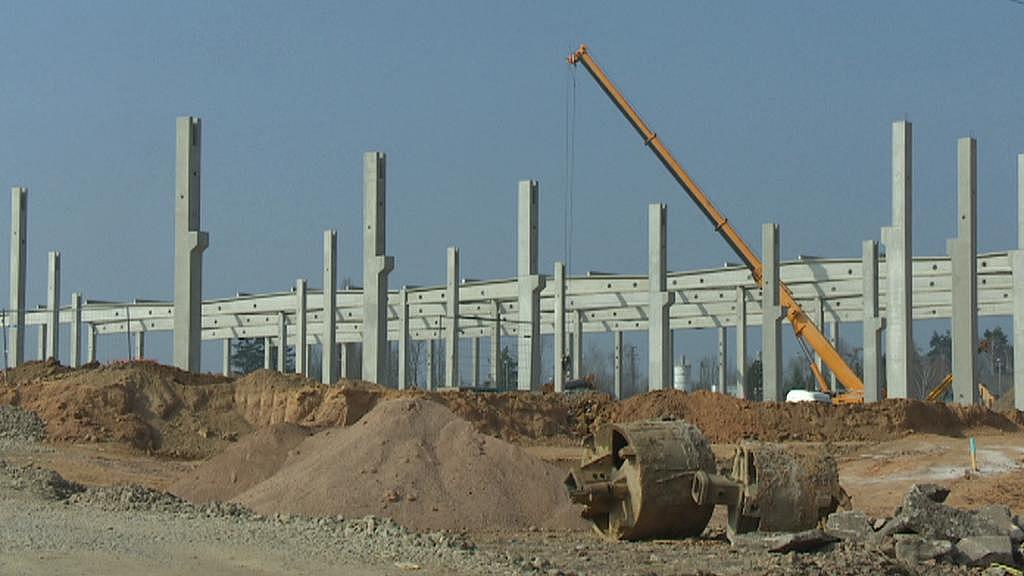Stavba v Přešticích