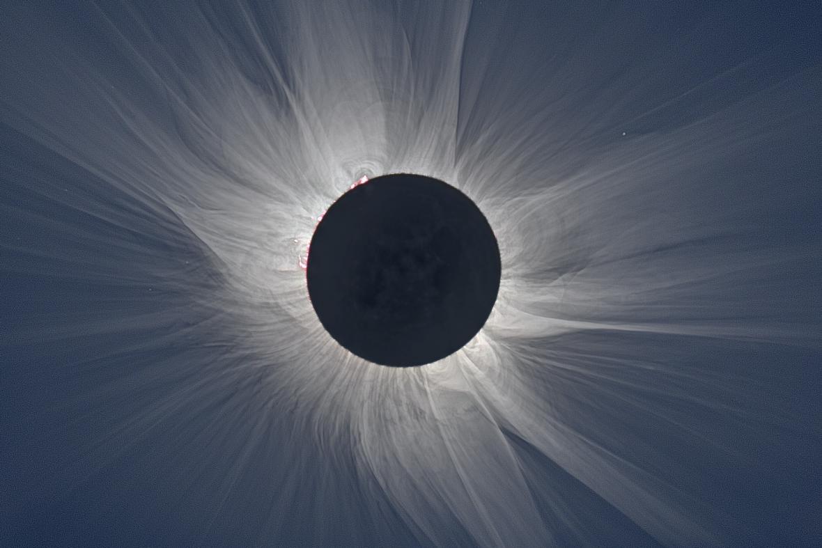 Čeští vědci na Špicberkách pozorovali zatmění Slunce
