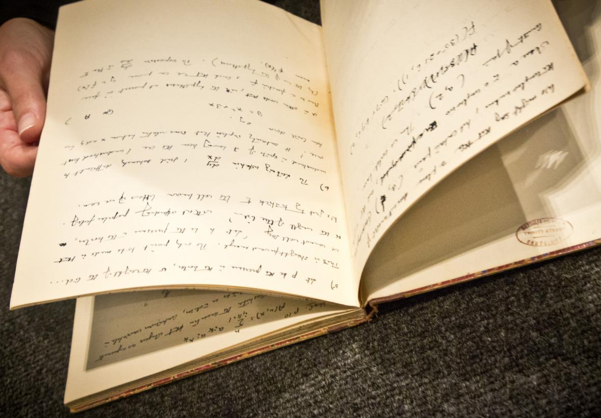 Turingovy zápisy