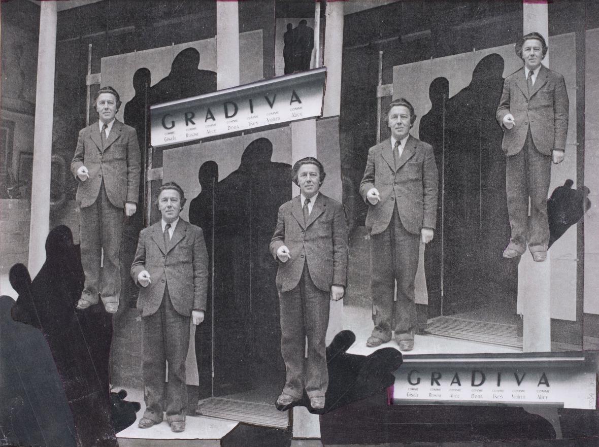 Staša Fleischmannová / André Breton, nedatováno
