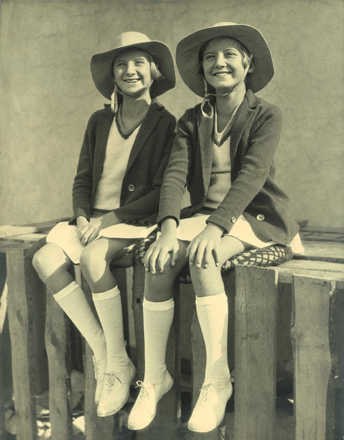 Rudolf Jílovský / Staša a Olga, 1929