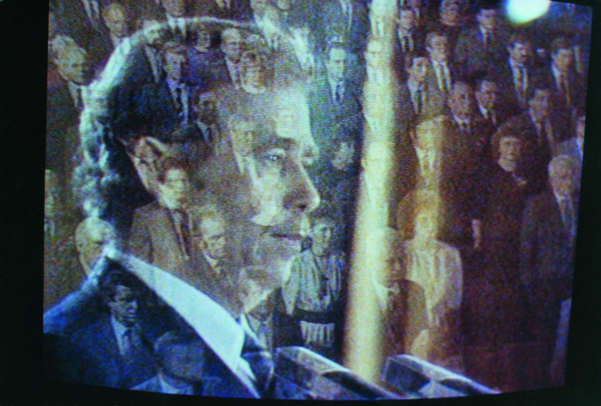 Staša Fleischmannová / Volba Václava Havla prezidentem, 1989