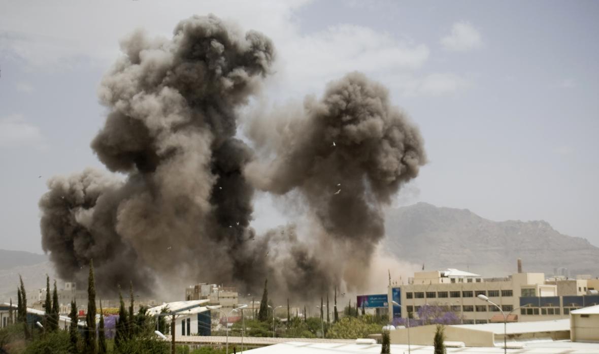 Nálety na Jemen vedené Saúdskou Arábií