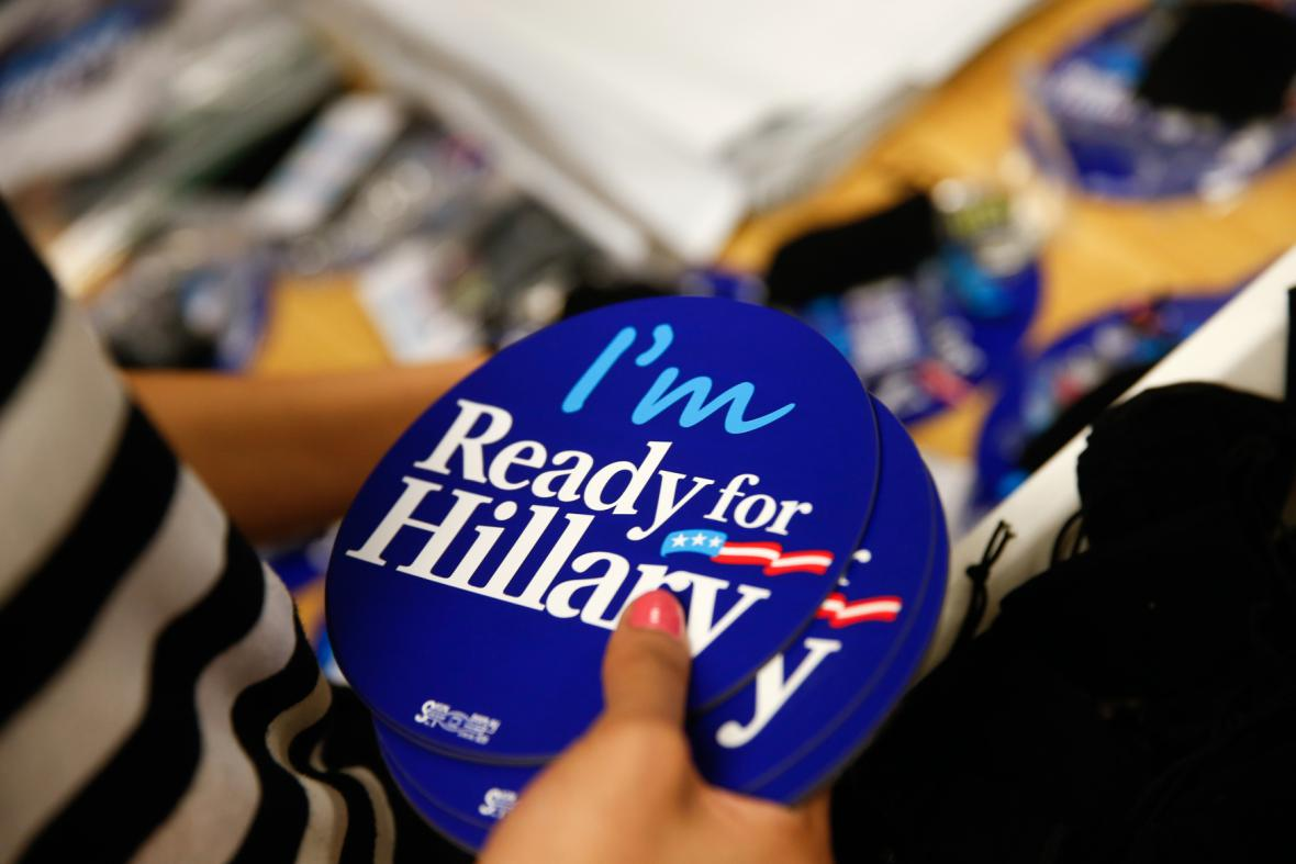 Kampaň na podporu Hillary Clintonové