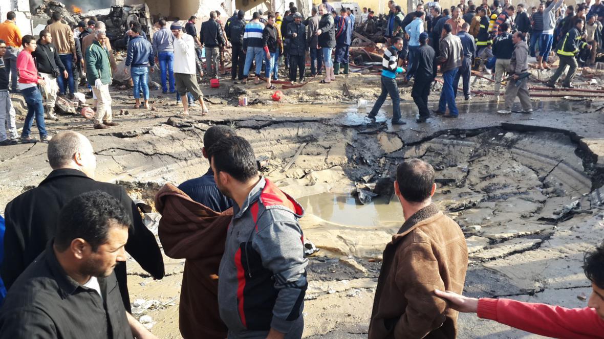 Následky islamistických útoků na Sinaji
