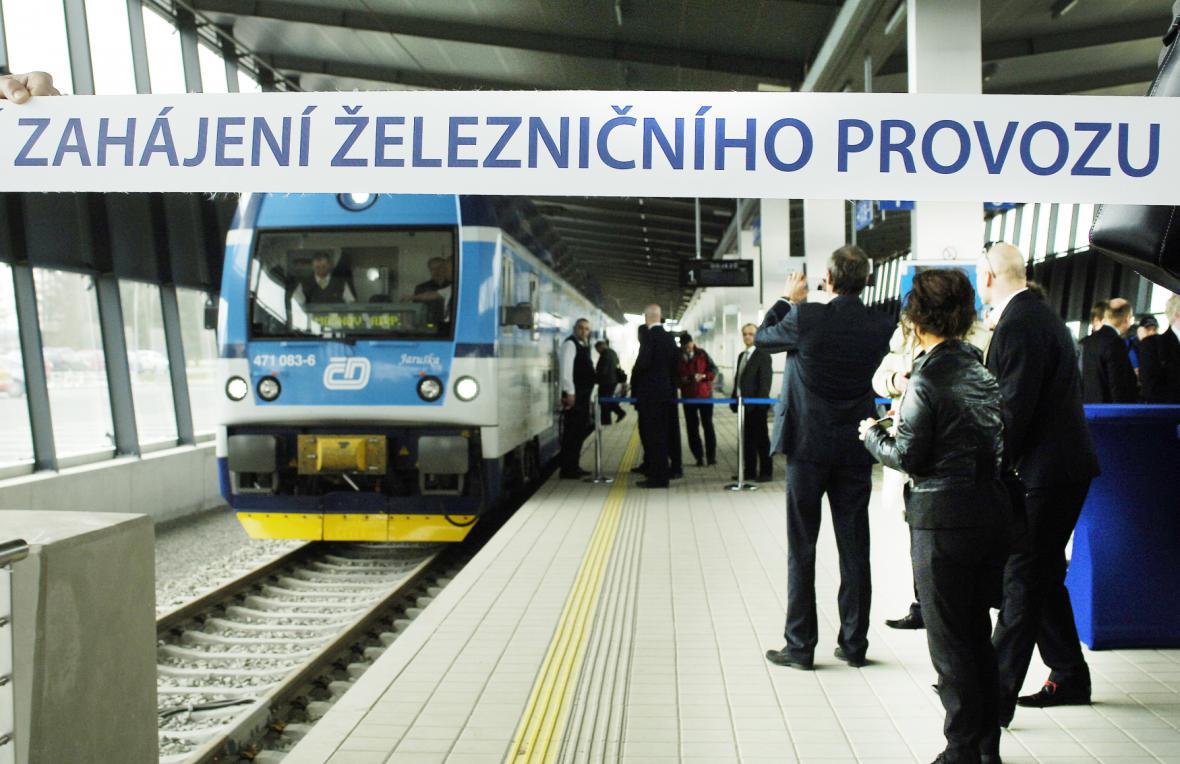 Zahájení železničního provozu
