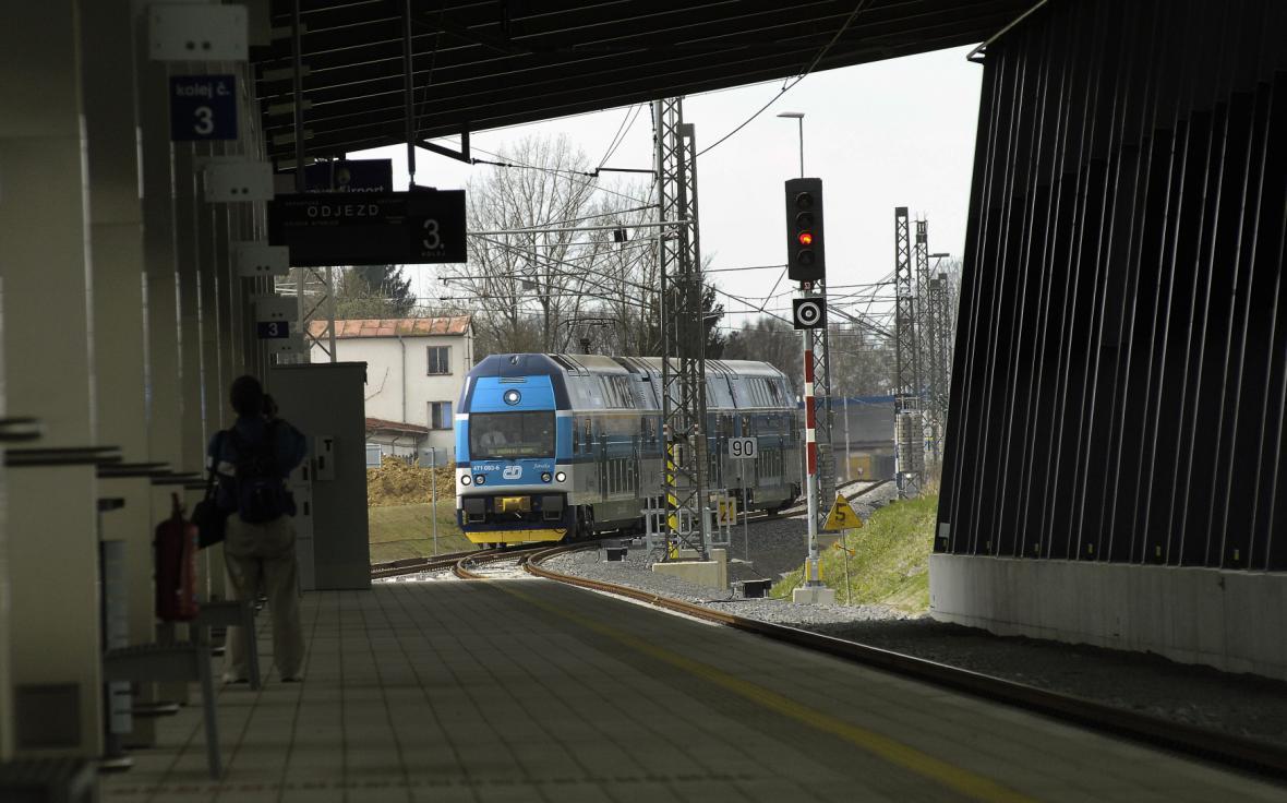Příjezd vlaku