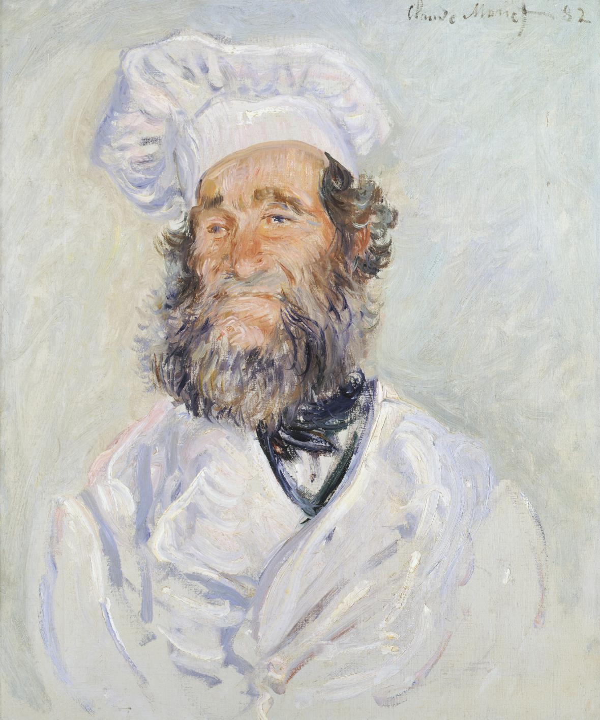 Claude Monet / Kuchař, 1882