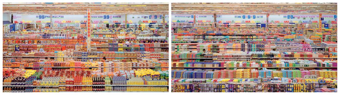 Andreas Gursky / 99 cent II, 2000