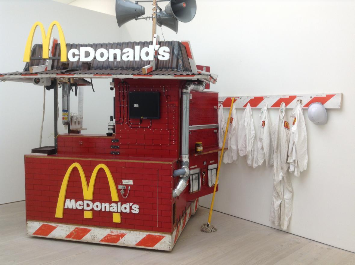 Tom Sachs / Nutsy's McDonald's, 2001
