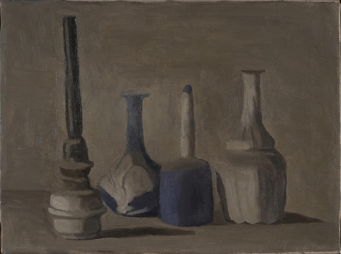 Giorgio Morandi / Zátiší, 1941