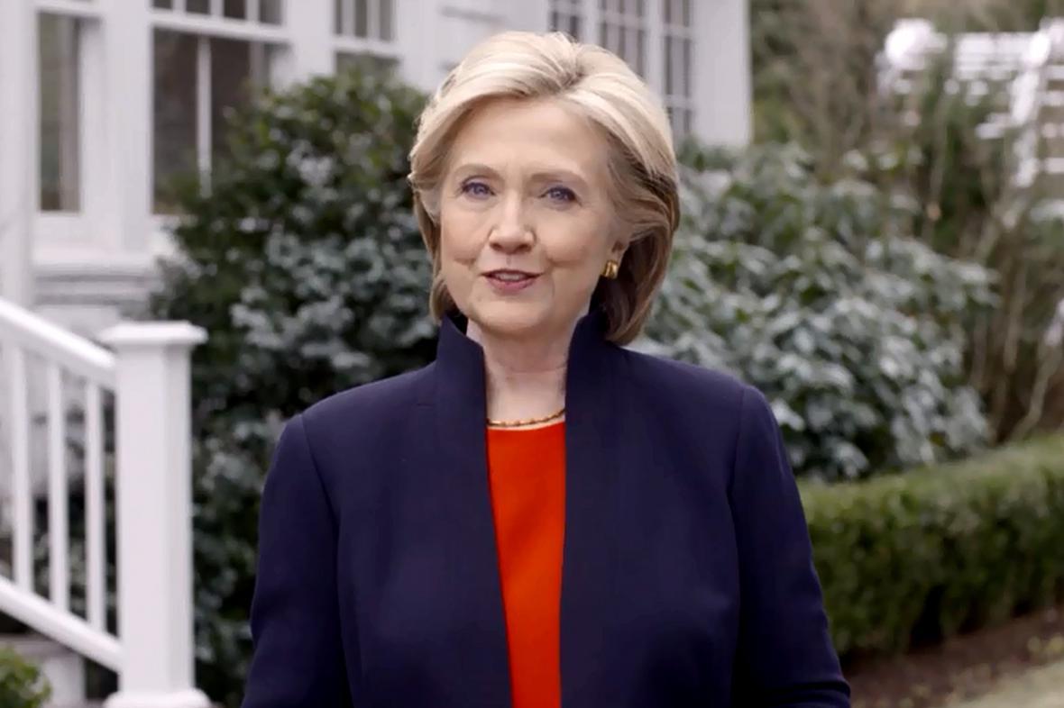 Hillary Clintonová se chce stát první ženou v čele USA