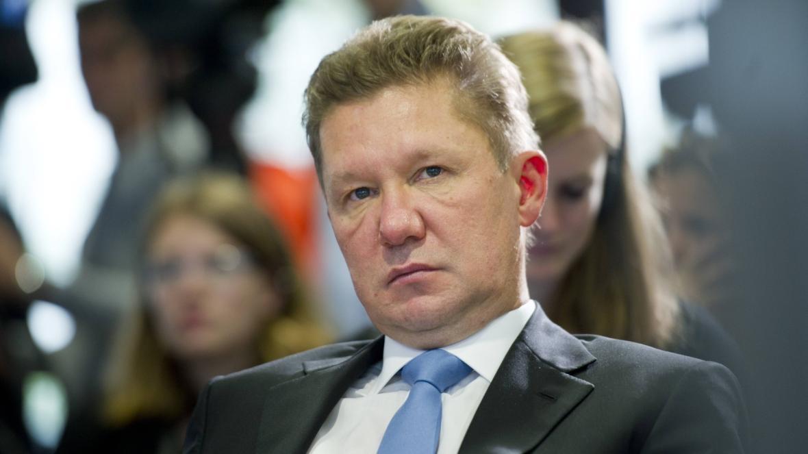 Šéf Gazpromu Alexej Miller