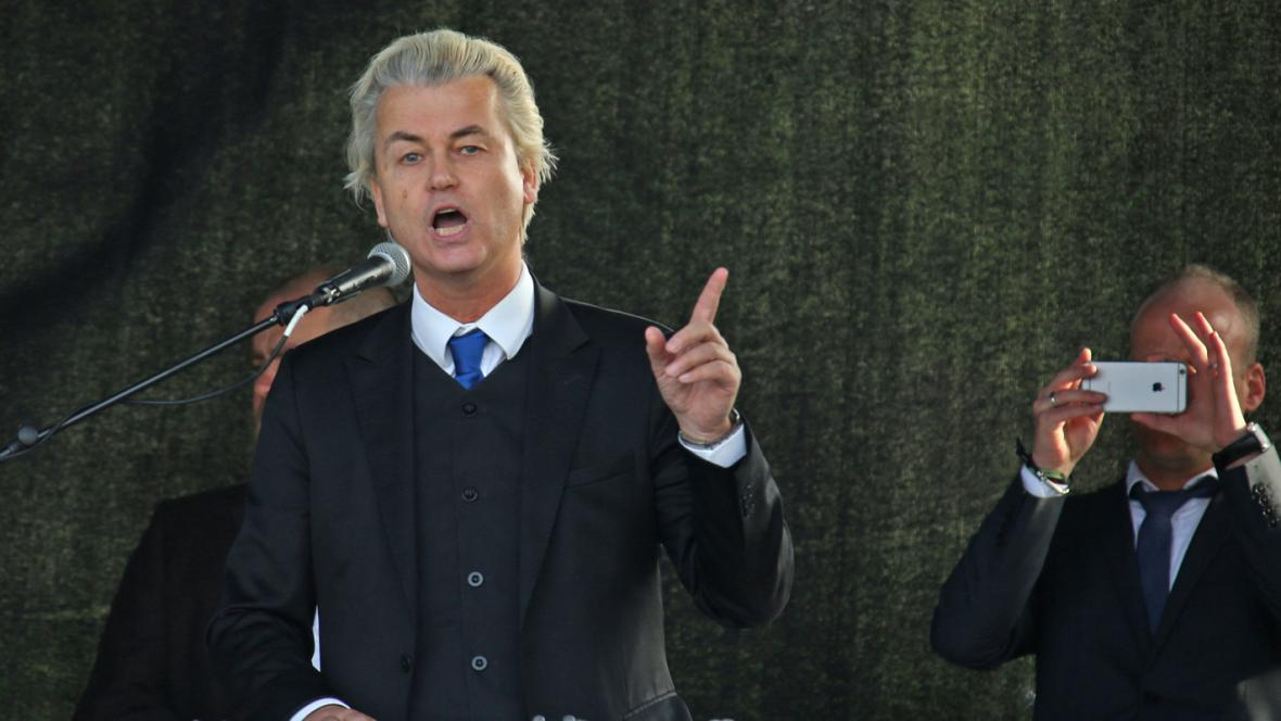 Geert Wilders: Příznivci Pegidy bojují za svobodné a demokratické Německo