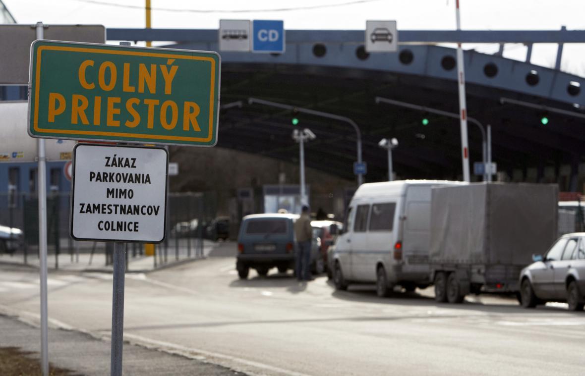 Slovensko-ukrajinský hraniční přechod