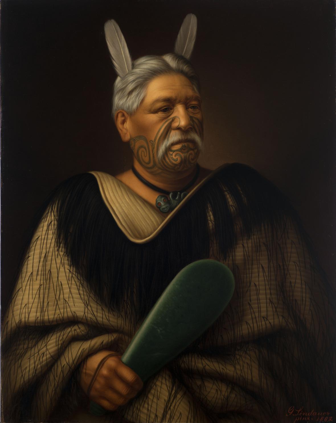 Gottfried Lindauer / Wahanui Reihana Te Huatare
