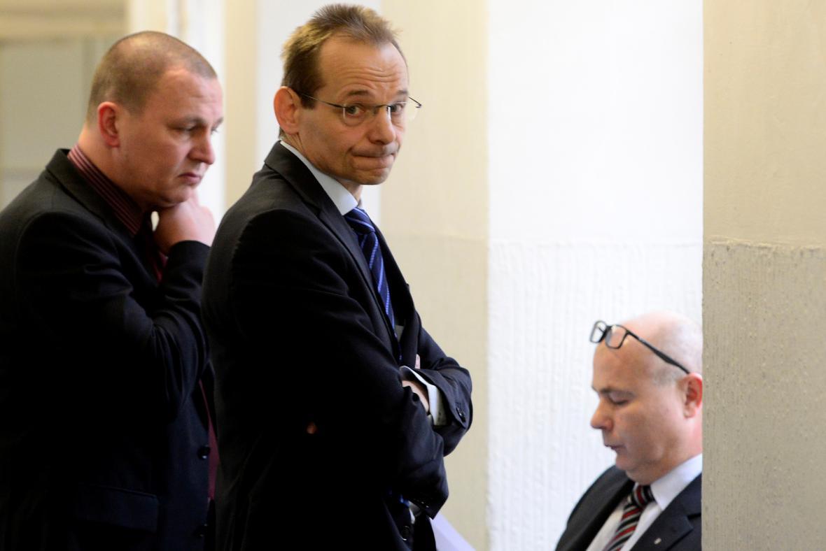 Milan Kovanda, Jan Pohůnek a Ondrej Páleník