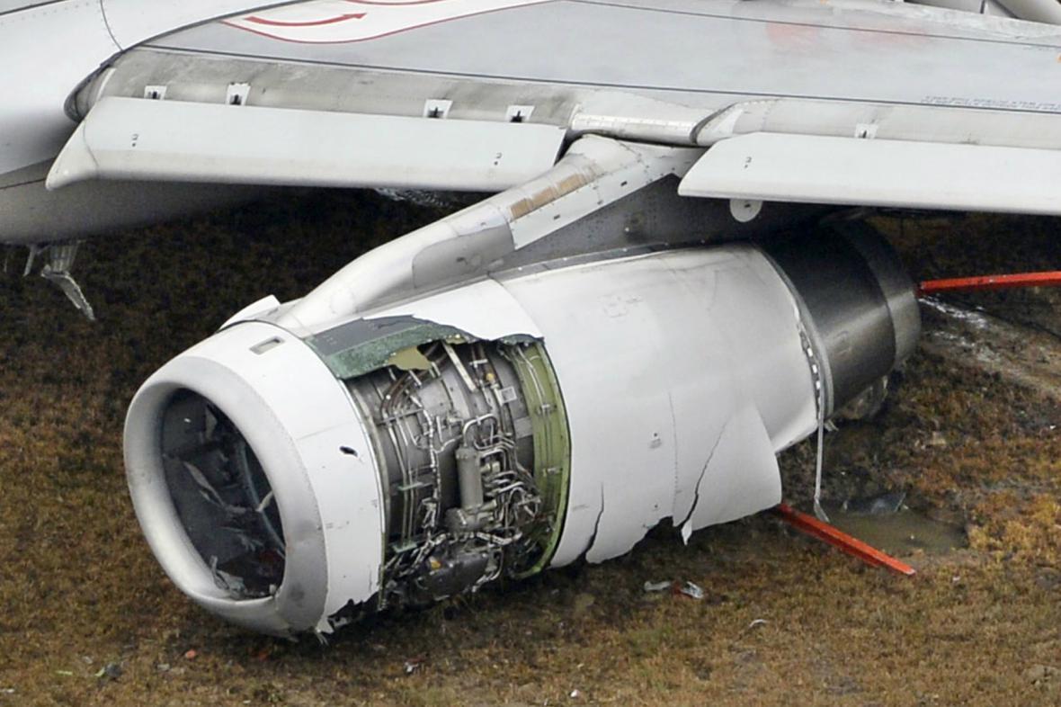 Airbus vyjel při přistání v Hirošimě z přistávací dráhy