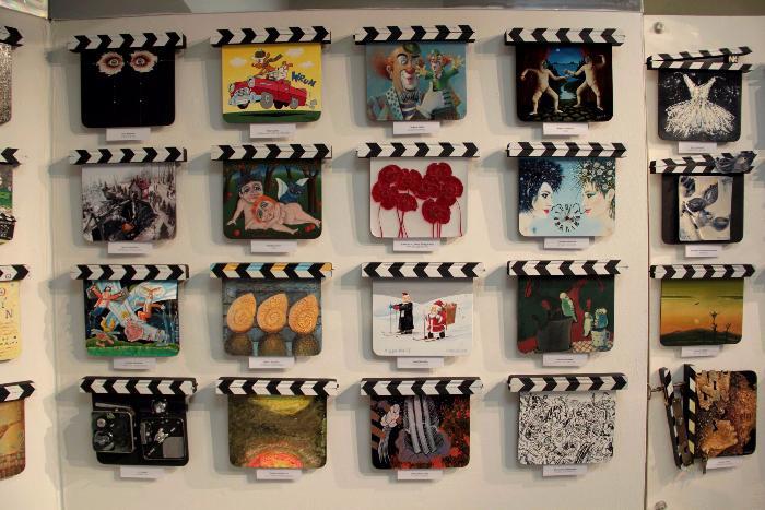 Minisalon filmových klapek Zlín Film Festivalu 2015