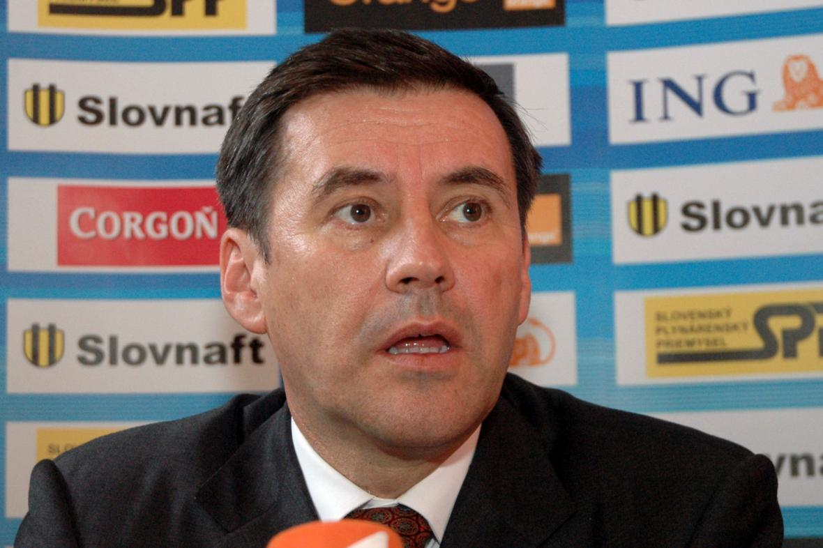 Údajný majitel firmy Váhostav Juraj Široký (2006)