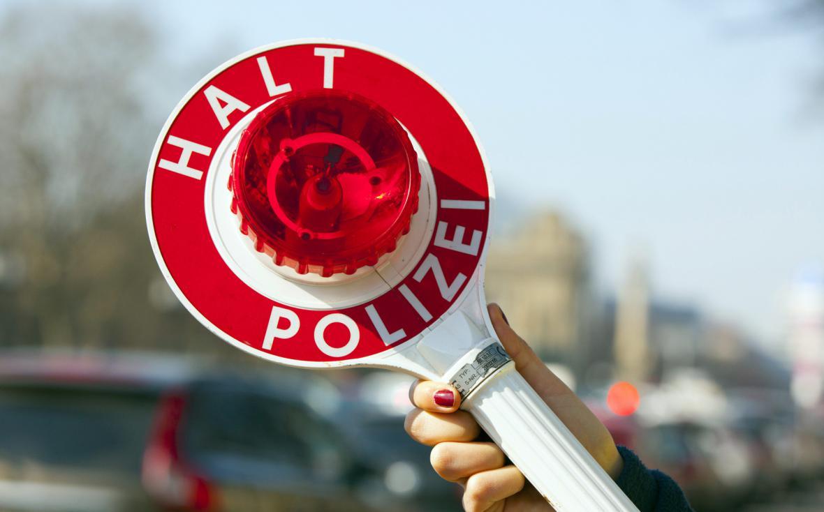 Německá policejní stopka
