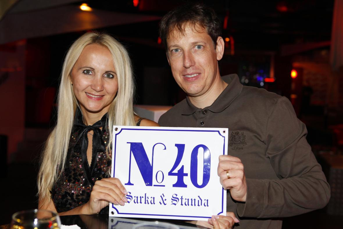 Stanislav Gross s manželkou Šárkou