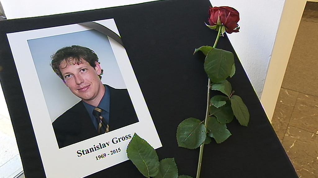 Památka na zesnulého Stanislava Grosse v Poslanecké sněmovně