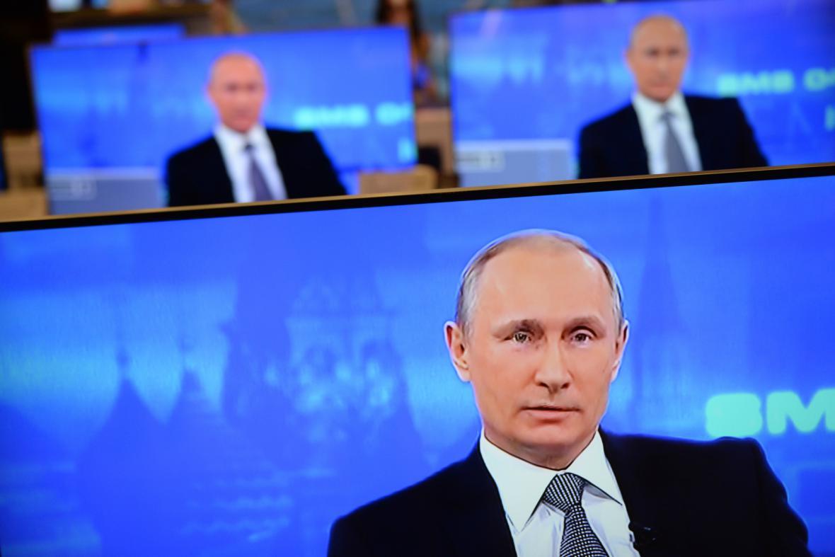 Diskuse Vladimira Putina s občany